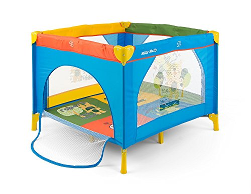 Milly Mally Laufstall Open, Multicolor