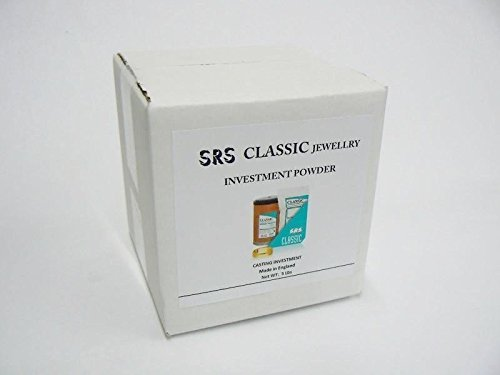 Jewelry CASTING POWDER LOST WAX CASTING OF JEWELRY 5 Lbs CLASSIC SRS INVESTMENT (LZ 5.10 R BOX A) NOVELTOOLS by Novel